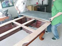 Pool table moves in Chesterfield Missouri
